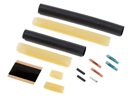 Raychem CCE series cold lead connection and end seal heat shrink kit